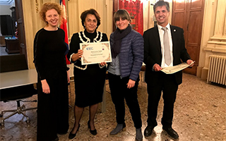 primera mujer certificado gases inflamables