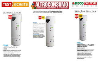 Ariston Nuos Plus elegida mejor bomba de calor por Clear Project