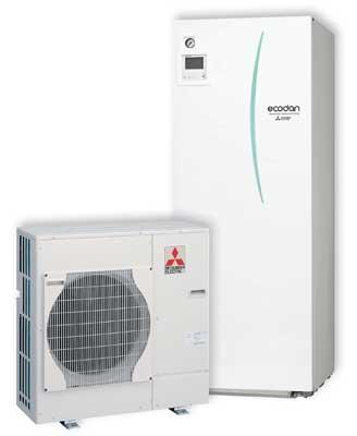 Ecodan hybrid bomba de calor aerot rmica de alta - Bomba de calor de alta eficiencia energetica para calefaccion ...
