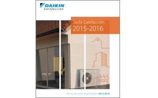 Nueva tarifa de calefacci n daikin 2015 16 con su bomba de for Tarifa roca calefaccion