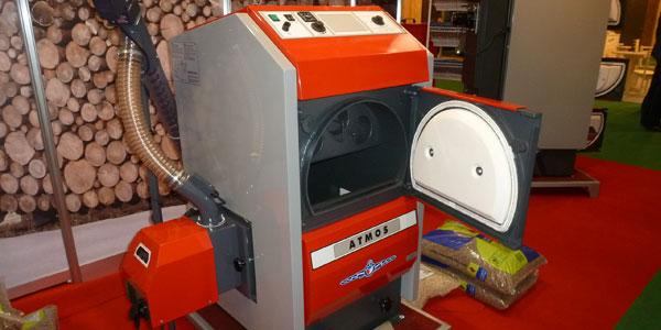 Calderas de biomasa y pellets las ventajas de la for Calderas para calefaccion