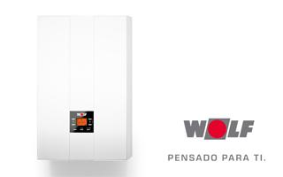 Caldera de condensacion Wolf FGB 24 kW