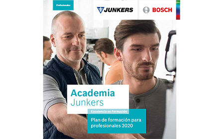 cartel informativo del plan de formación Academia Junkers