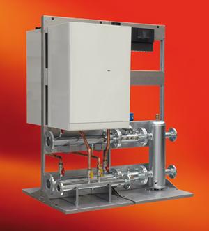 Calderas de condensacion modulares de tradesa biasi chip for Sanitas oficinas centrales