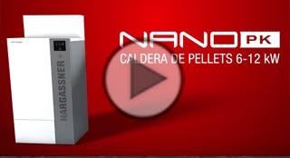 Video de la caldera de biomasa Nano-PK de Hargassner