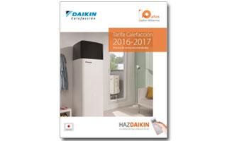 Nueva tarifa de calefacci n daikin 2016 2017 for Tarifa roca calefaccion