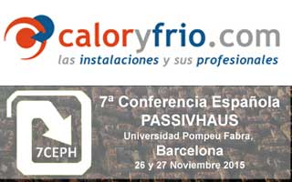 Caloryfrio media partner de la Conferencia PassivHaus