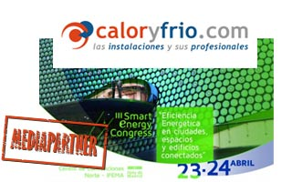 Caloryfrio.com mediapartner del Smart Energy Congress