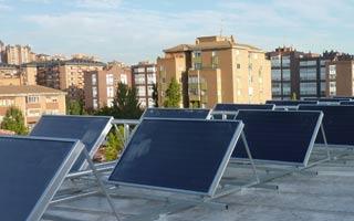Captadores energía solar térmica