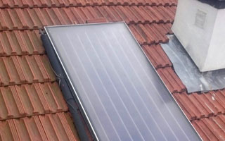 Sistemas de energ a solar t rmica en usos residenciales - Placa solar termica ...