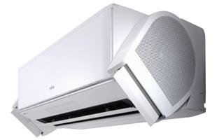 Split de aire acondicionado doméstico Fujitsu con sistema Nocria X