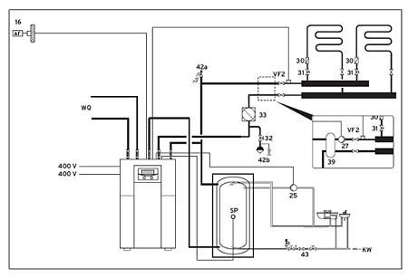 Instalaci n de bomba de calor geot rmica vaillant en - Mejor sistema de calefaccion electrica ...