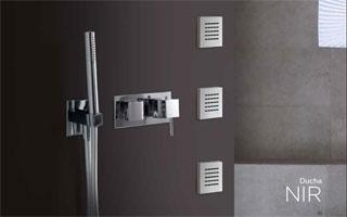 Grifos de dise o termost ticos de ducha serie nir de rovira for Grifos de ducha termostaticos precios