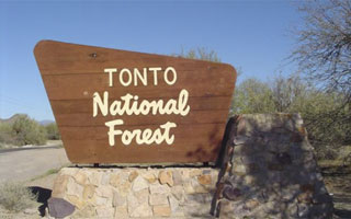 Tonto National Forest en Arizona, destino de la promoción de Daitsu