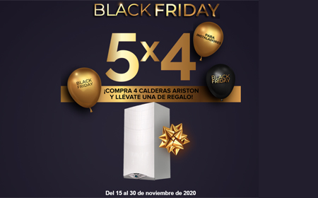 Ariston Promoción Black Friday
