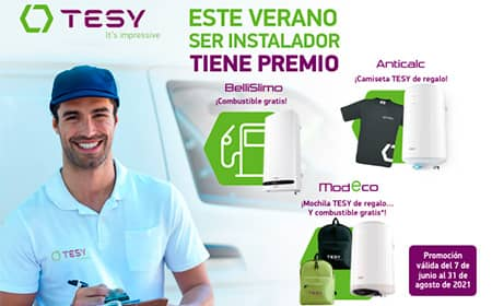 TESY lanza una nueva campaña promocional dirigida a profesionales instaladores