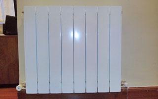 Dimensionamiento de una instalaci n de calefacci n con for Calefaccion bomba de calor radiadores