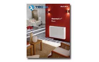 Nuevo cat logo de radiadores thermofon plano de tecna for Catalogo de radiadores