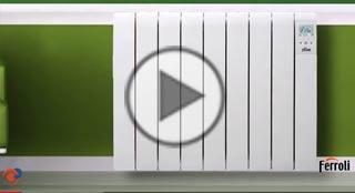 Ferroli publica un v deo con las ventajas de instalar los - Emisores termicos electricos ...