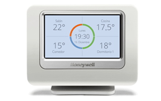 Regulador inteligente Evohome de Honeywell