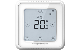 Termostato inteligente Honeywell Home T6 en blanco