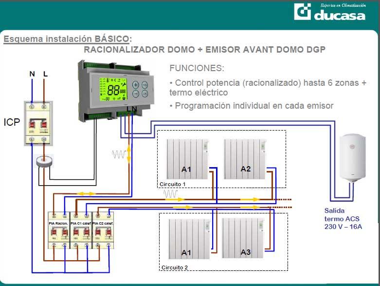 Sistema dom tico para calefacci n ducasa - Mejor sistema de calefaccion electrica ...