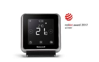 Premio Red Dot 2017 para la serie T de Honeywell