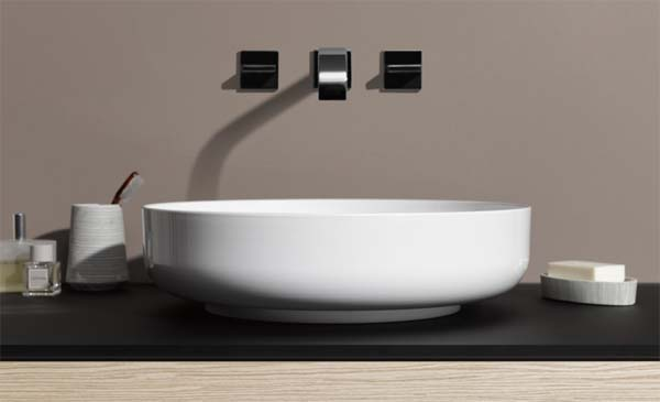 lavabos de acero vitrificado sondo de lape. Black Bedroom Furniture Sets. Home Design Ideas