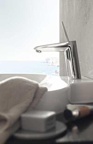 Nueva línea de griferías de baño Eurodisc Joystick de GROHE, lujo y ...