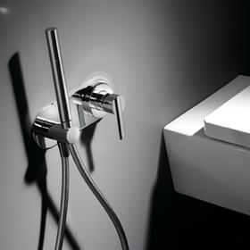 Bid empotrado para wc de tres grifer a - Grifo bidet para wc ...