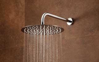 Rociador para ducha de acero inoxidable serie ultraslim de ram n soler - Rociador ducha pared ...