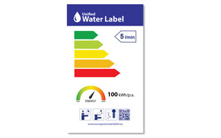 Etiqueta europea del agua Water Label