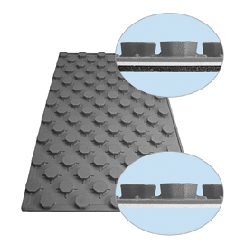Panel aislante para suelo radiante refrescante saunier duval - Aislante para suelo ...