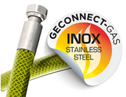Conexiones flexibles geconnect para gas