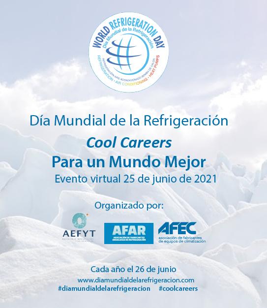 Dia mundial de la refrigeracion banner superior derecho ferias junio 2021