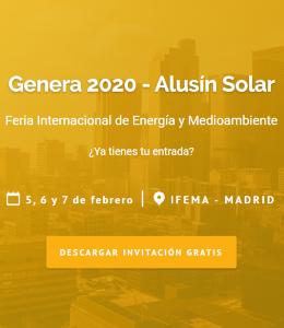 Alusín Solar Banner superior derecho renovables enero 2020