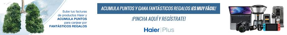 Haier Plus banner cierre aire acondicionado julio 2020