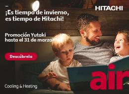 Hitachi banner derecho bomba calor enero 2020 cesion