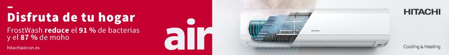 Hitachi banner izquierdo aire doméstico agosto 2020