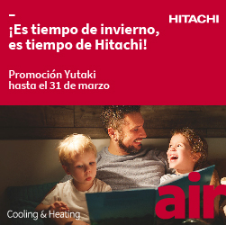 Hitachi noticia destacada bomba calor enero 2020