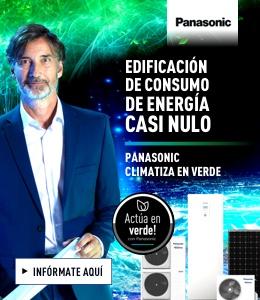 Panasonic Europa banner superior derecho construcción sostenible mayo 2020