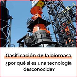 Caloryfrio noticia destacada biomasa agosto 2021 gasificacion