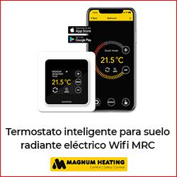 Caloryfrio noticia destacada suelo y techo radiante octubre 2021 termostato magnum heating