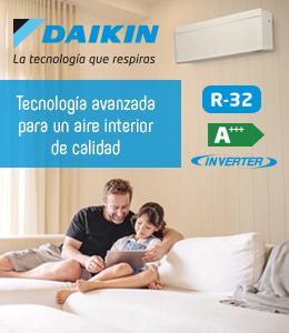 Daikin banner superior derecho aire doméstico julio 2020
