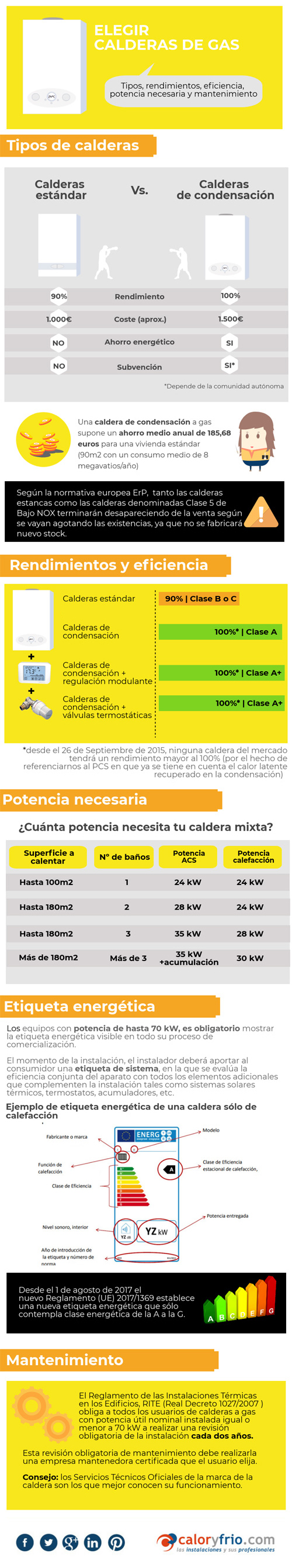 Calderas de gas infograf a y claves para elegir la m s for Termostatos inalambricos para calderas de gas