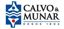 Calvo y Munar logotipo