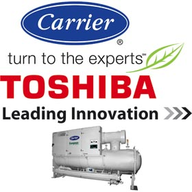 Carrier y Toshiba