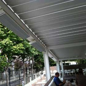 Energostrip Calefaccion De Terrazas Cubiertas Con Paneles Radiantes - Cubiertas-de-terrazas