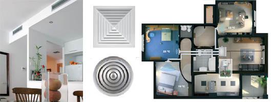Aire acondicionado por conductos cu l es el mejor sistema for Instalacion de aire acondicionado por conductos