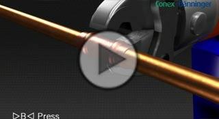 Vídeo demostración de funcionamiento del sistema de fitting de tuberías para instalaciones solares